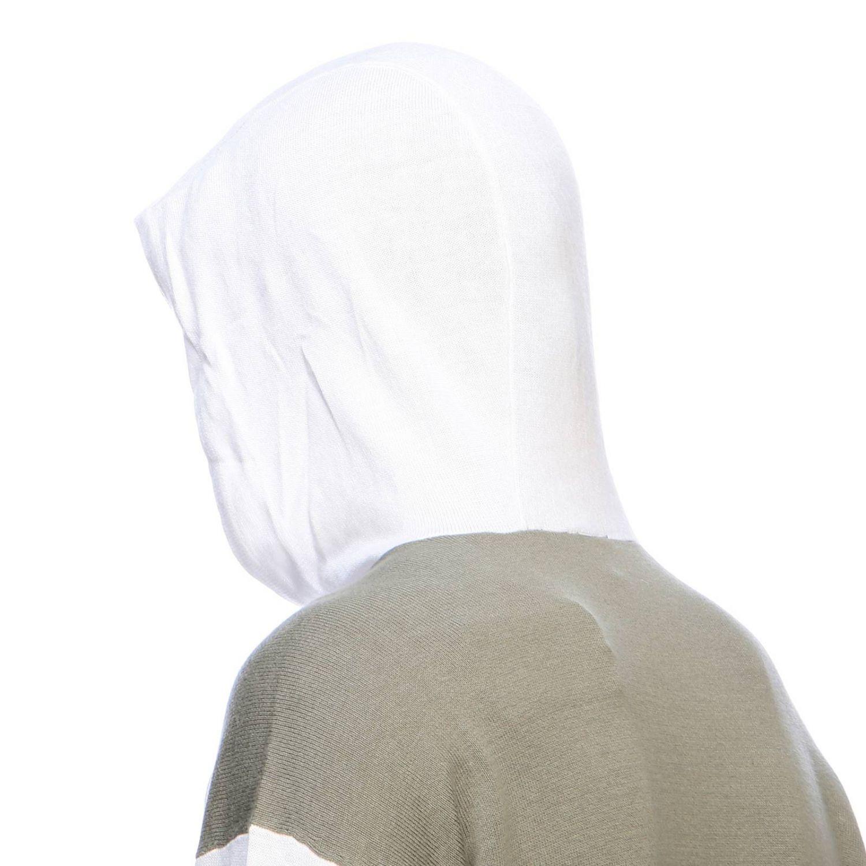 Felpa Armani Exchange con cappuccio e logo bianco 4