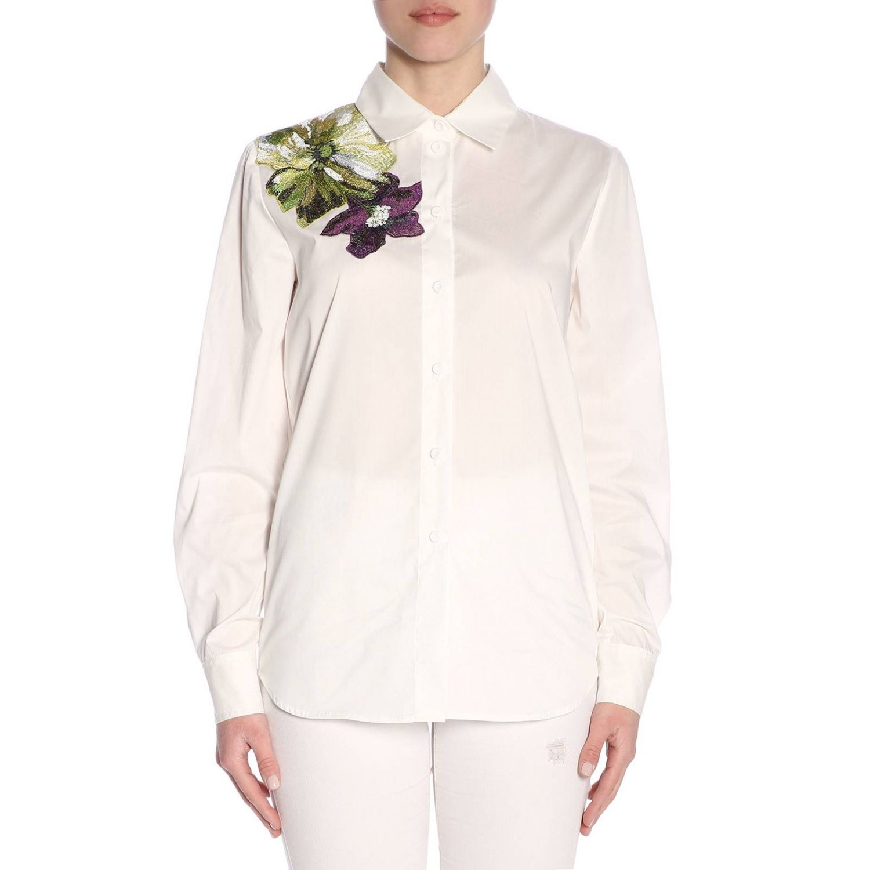 Рубашка Женское Blumarine экрю 1