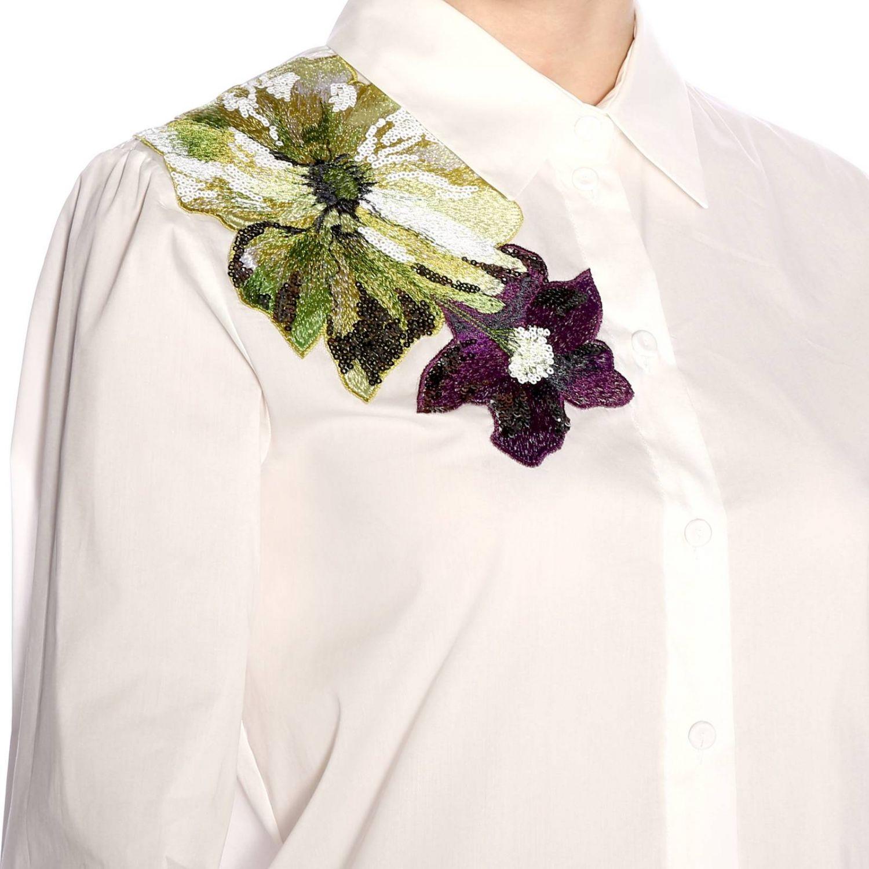 Рубашка Женское Blumarine экрю 4
