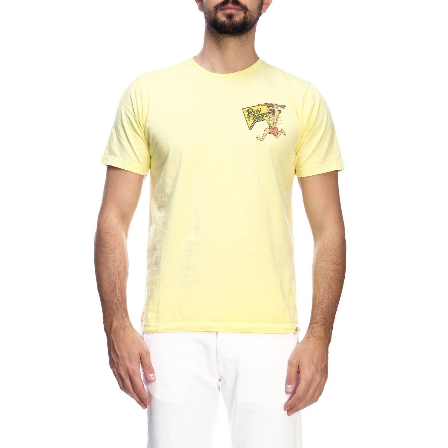T-shirt men Roy Rogers yellow 1