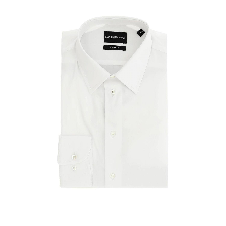 衬衫 男士 Emporio Armani 白色 1