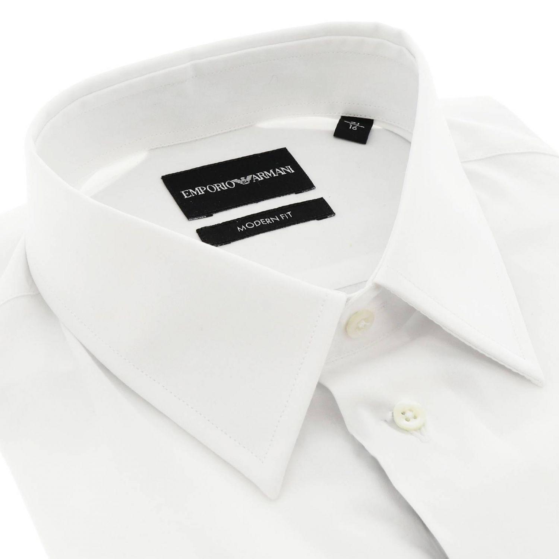 Camisa hombre Emporio Armani blanco 2