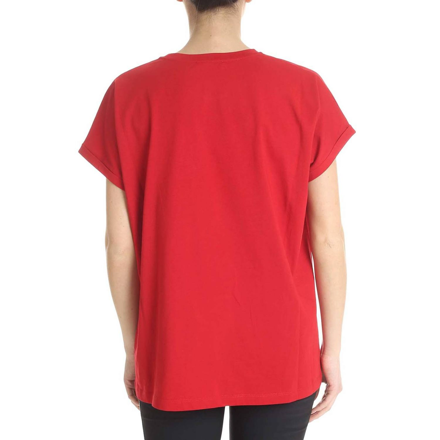 T-Shirt Balmain: T-shirt women Balmain red 3