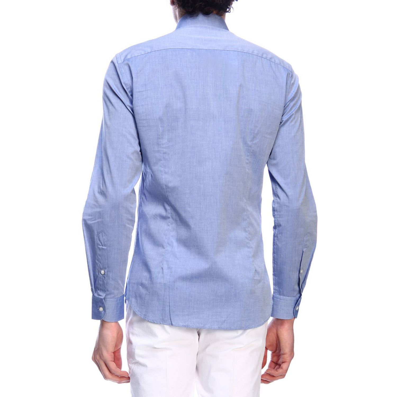 Shirt men Fay indigo 3