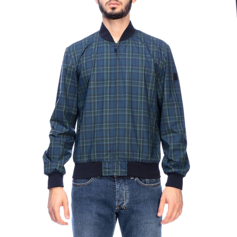 Jacket men Fay blue 1