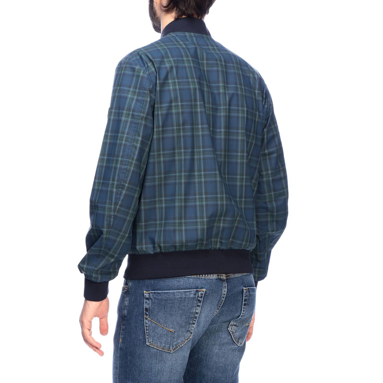 Jacket men Fay blue 3