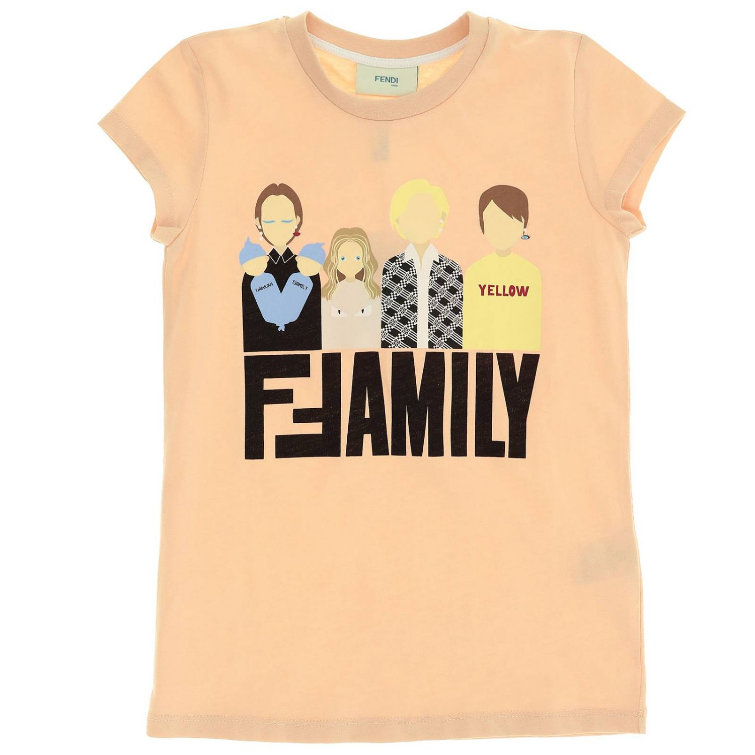 FENDI | T-Shirt T-Shirt Kids Fendi | Goxip