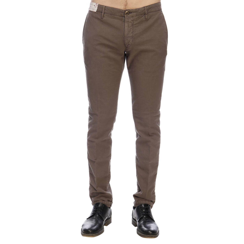 Pantalón hombre Incotex cacao 1