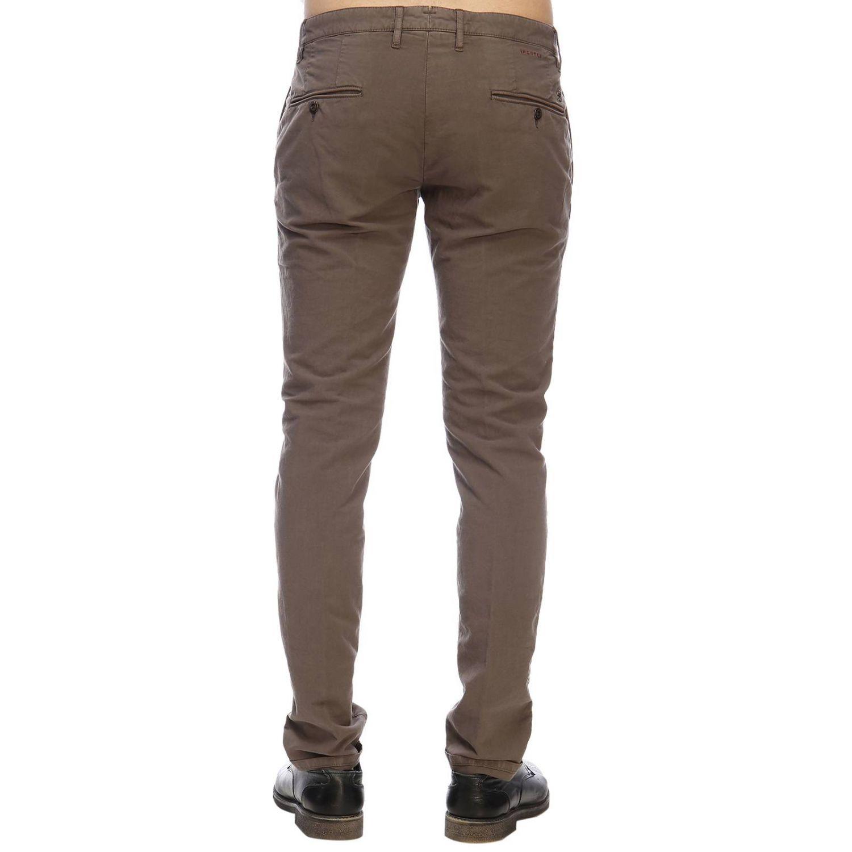 Pantalón hombre Incotex cacao 3