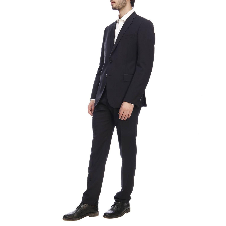 Suit men Emporio Armani blue 2