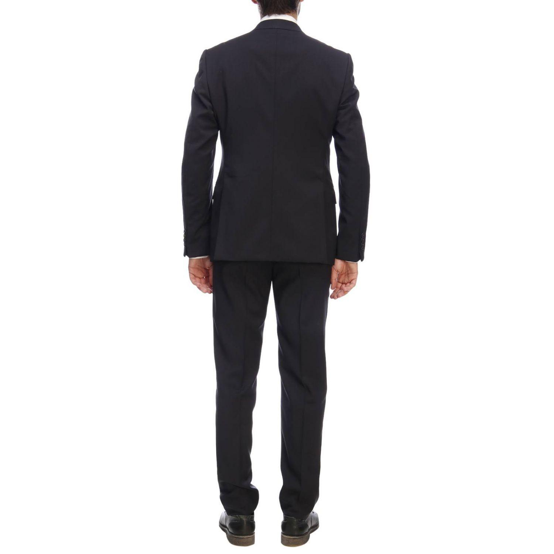 Suit men Emporio Armani blue 3