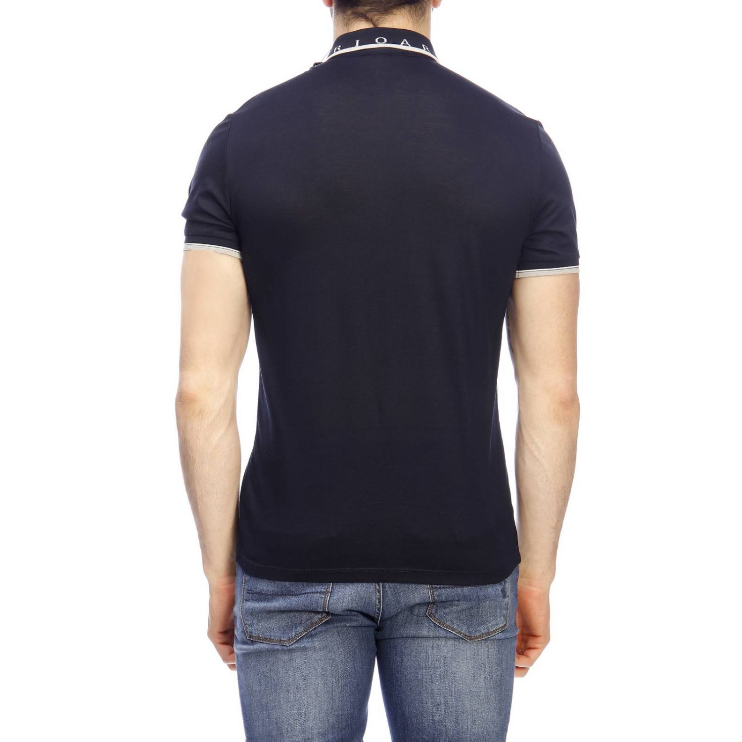 Sweater men Emporio Armani navy 3