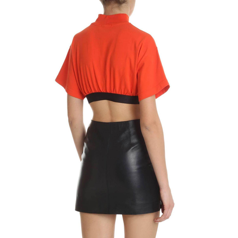 T-shirt donna Heron Preston rosso 3