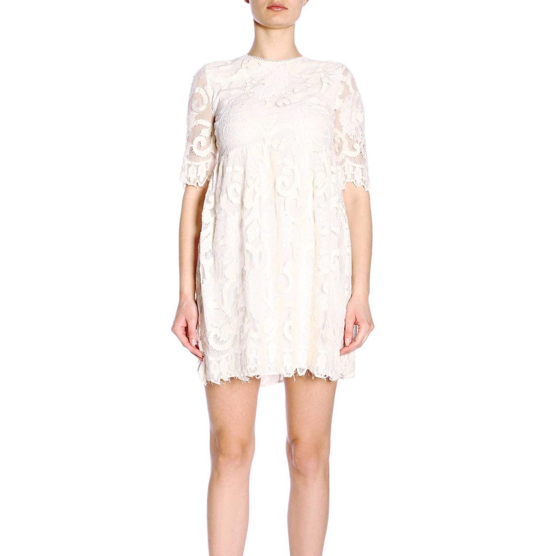 连衣裙 女士 Kaos 奶白色 1