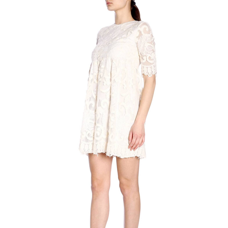 连衣裙 女士 Kaos 奶白色 2