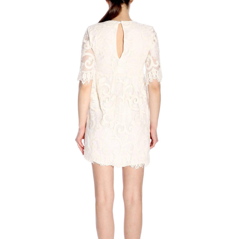 连衣裙 女士 Kaos 奶白色 3