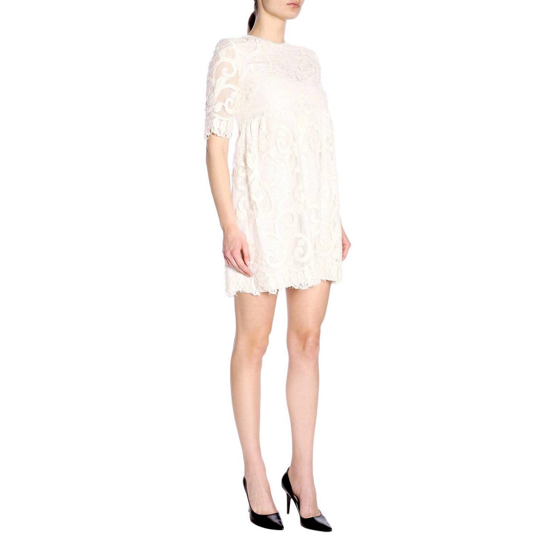 连衣裙 女士 Kaos 奶白色 4