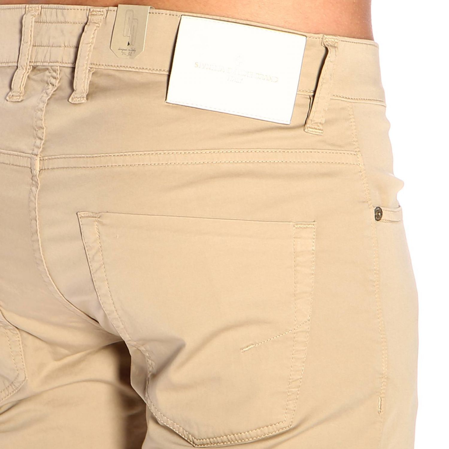 Trousers men Siviglia sand 4