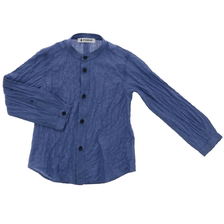 Camicia Dondup: Camicia bambino Dondup bianco 1