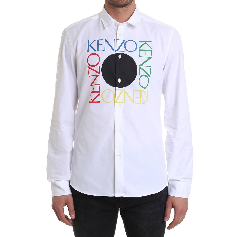 Рубашка Мужское Kenzo белый 1