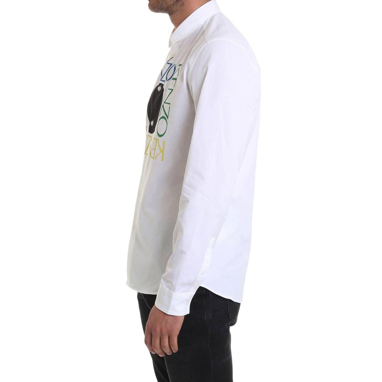 Рубашка Мужское Kenzo белый 2