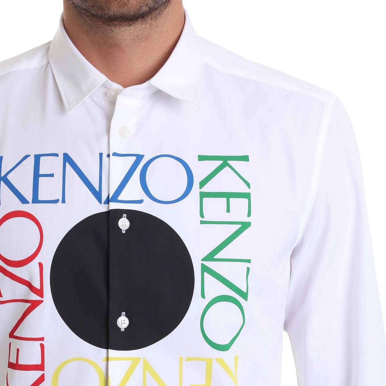 Рубашка Мужское Kenzo белый 4