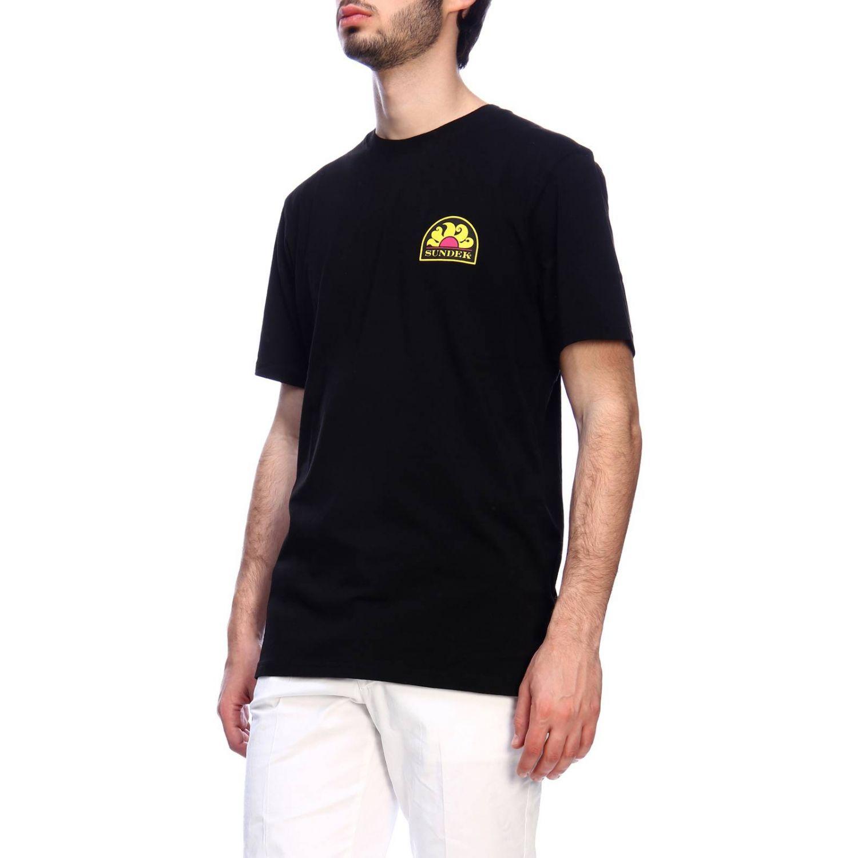 T-shirt men Sundek black 2