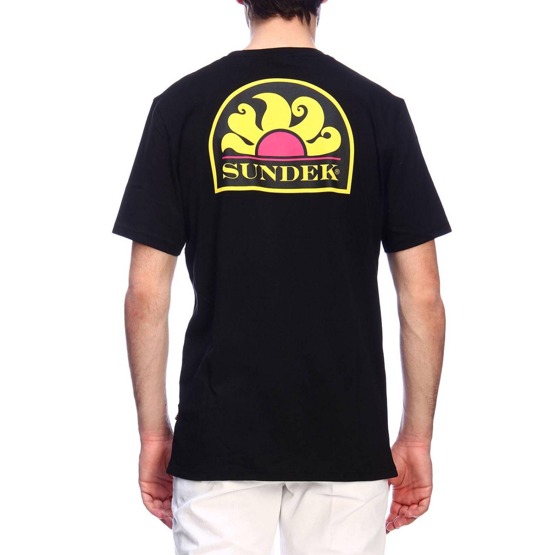 T-shirt men Sundek black 3