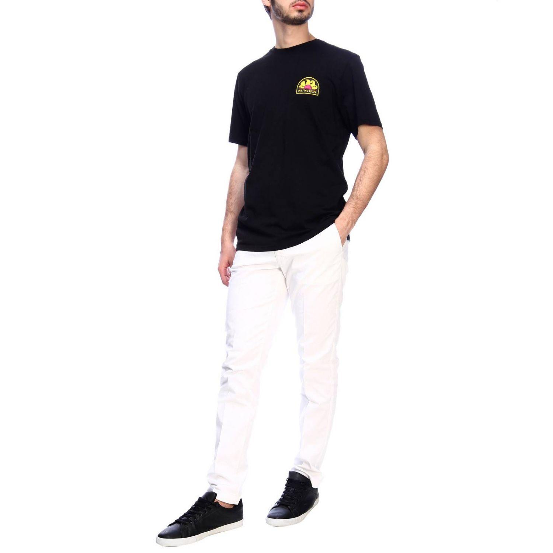 T-shirt men Sundek black 4