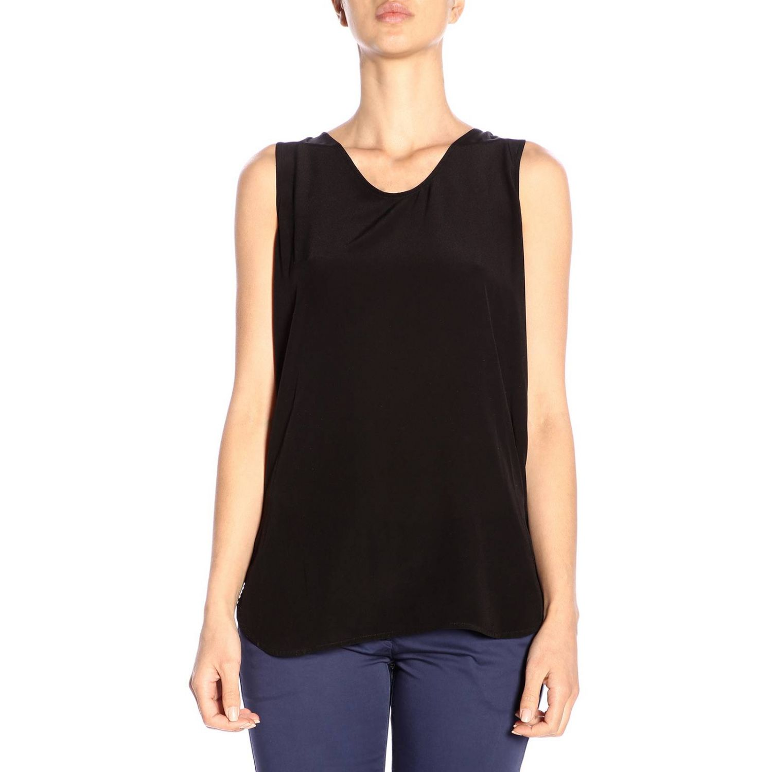 T-shirt women Woolrich black 1