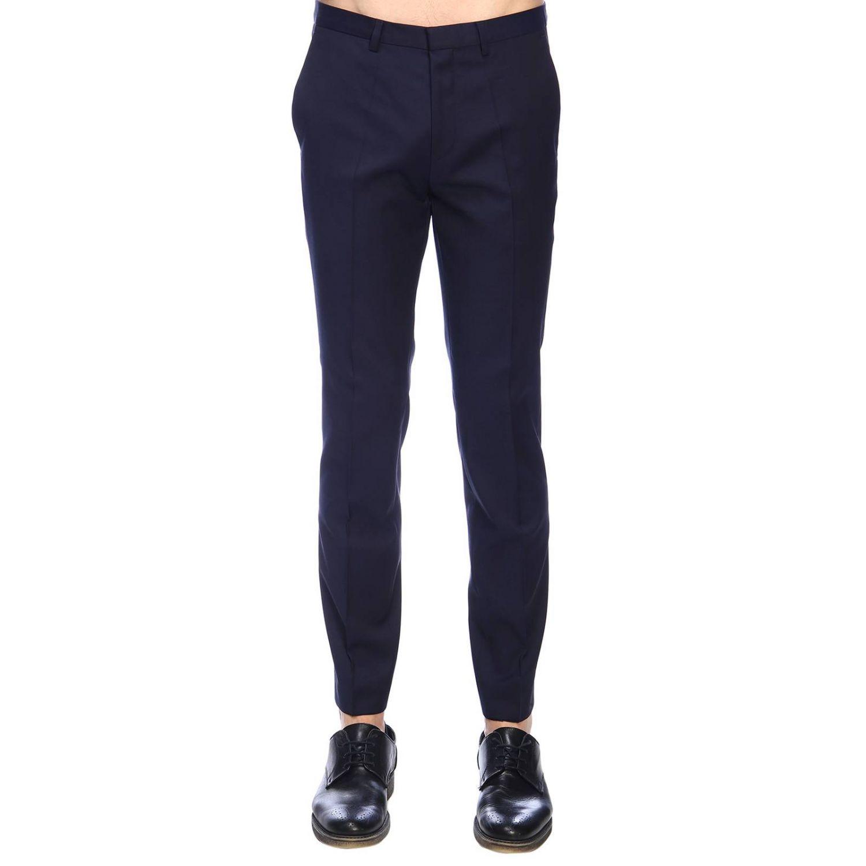 Hugo Boss Outlet Pantalone Uomo Pantalone Hugo Boss Uomo Blue Pantalone Hugo Boss 10199142 Henfords Giglio It