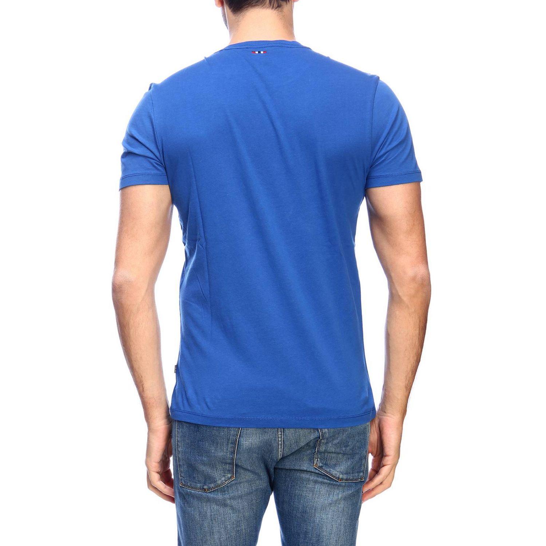 T-shirt men Napapijri gnawed blue 3