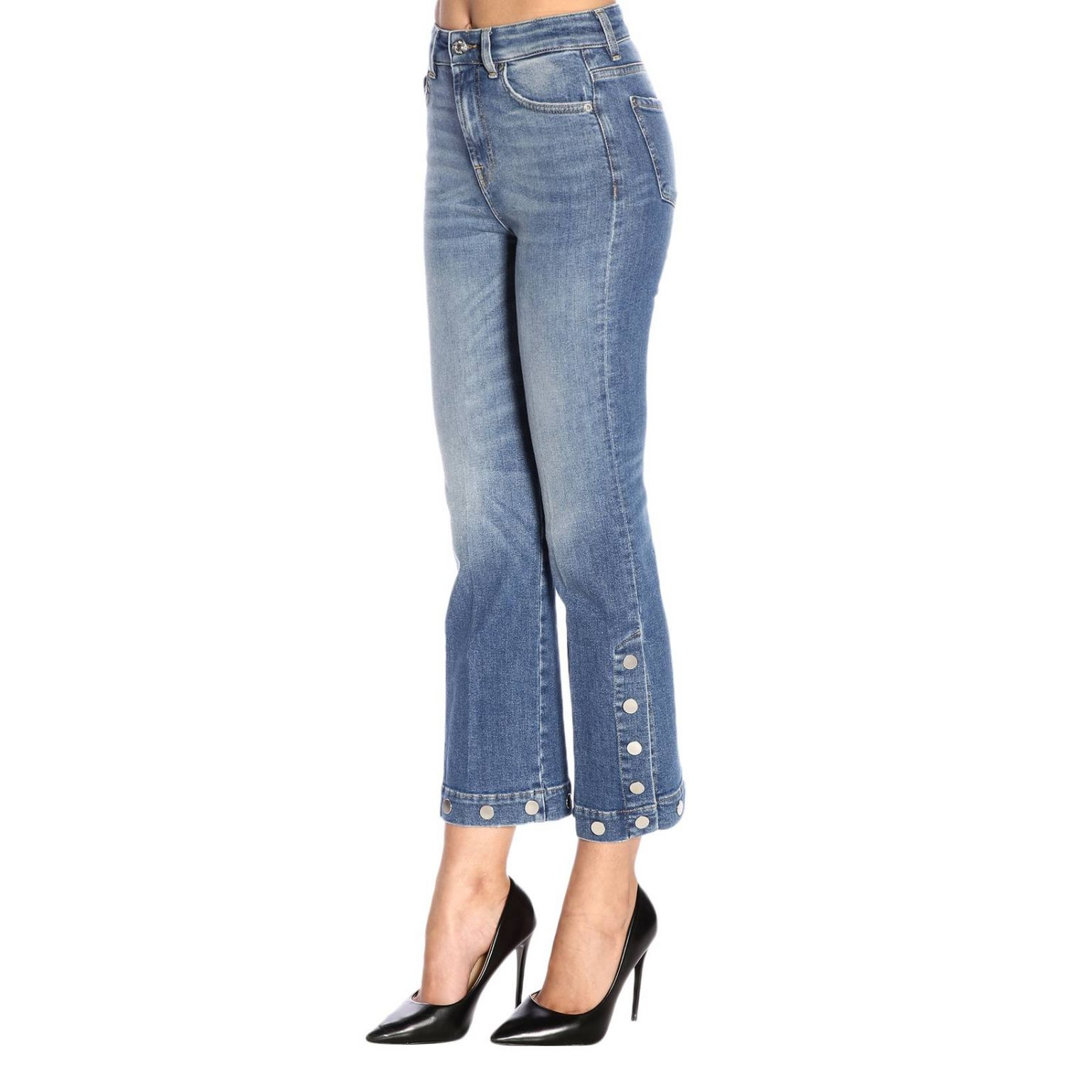 Jeans 7 For All Mankind a 5 tasche stretch used a trombetta blue 2