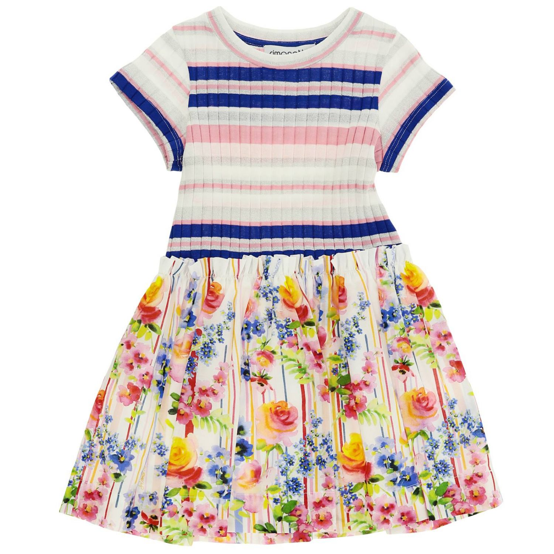 Dress kids Simonetta multicolor 1