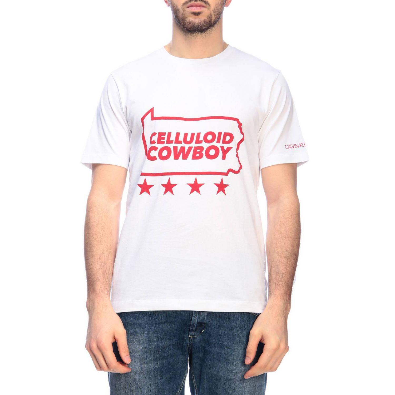 Футболка Calvin Klein Jeans: Толстовка Мужское Calvin Klein Jeans белый 1 1