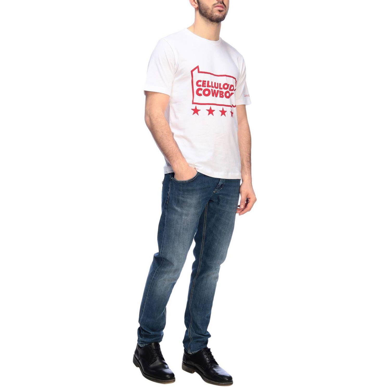 Футболка Calvin Klein Jeans: Толстовка Мужское Calvin Klein Jeans белый 1 4
