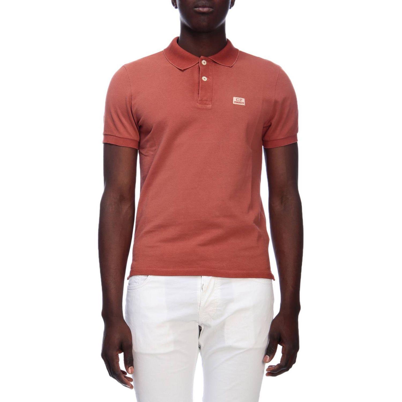 T-shirt men C.p. Company orange 1