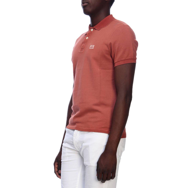 T-shirt men C.p. Company orange 2