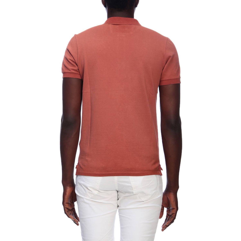 T-shirt men C.p. Company orange 3