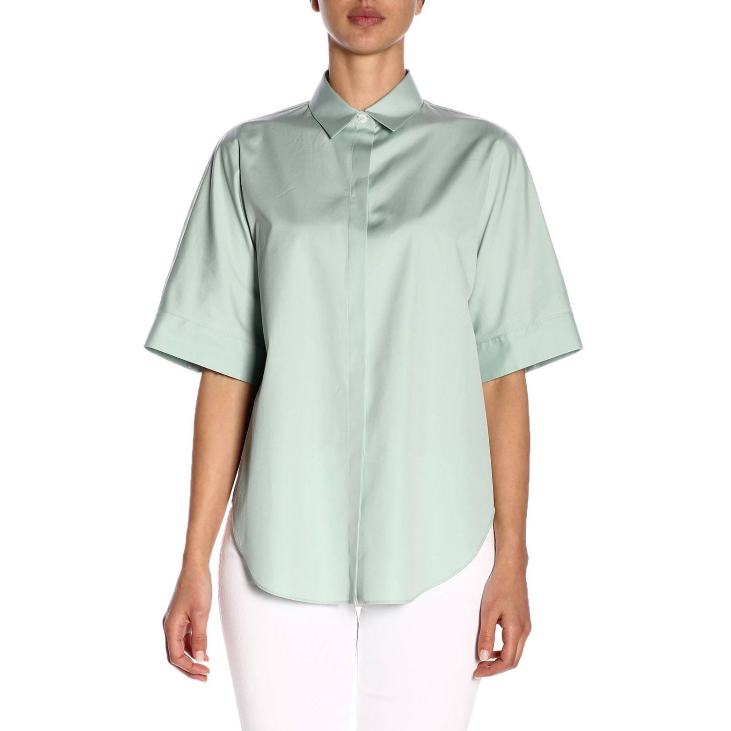 Shirt women Jil Sander blue 1