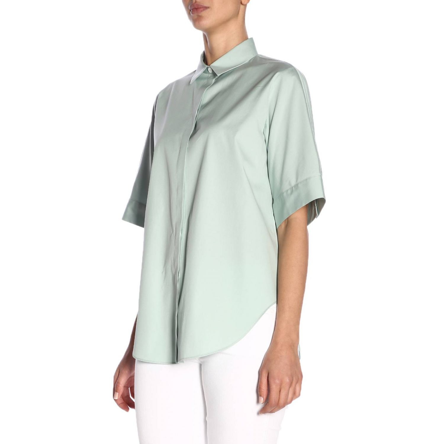 Shirt women Jil Sander blue 2