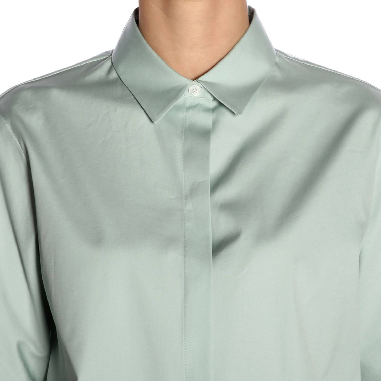 Shirt women Jil Sander blue 4
