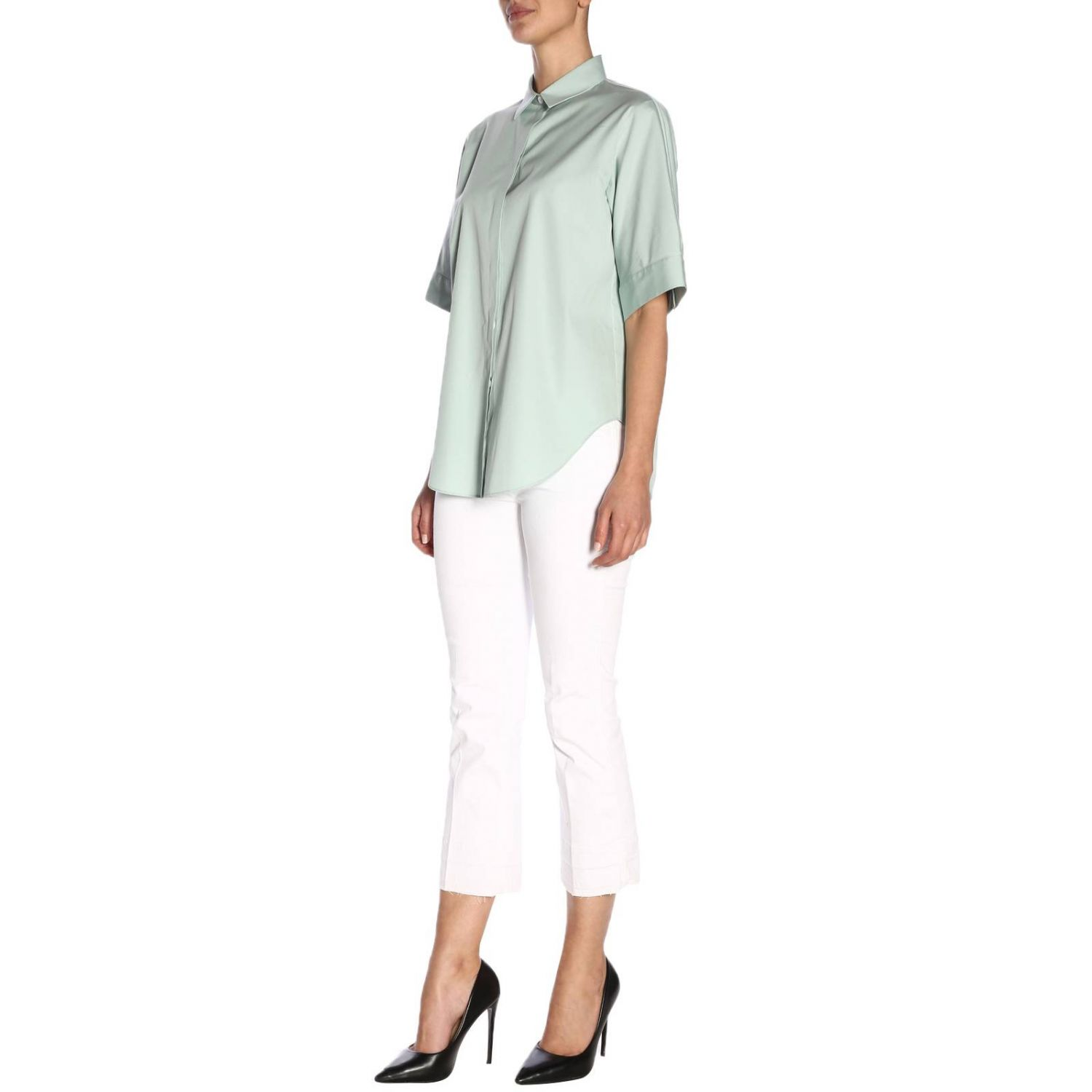 Shirt women Jil Sander blue 5