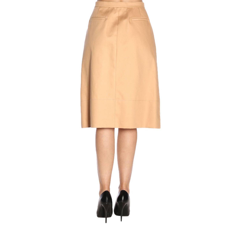 Skirt women Jil Sander biscuit 3