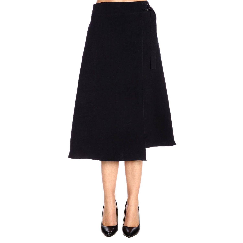 Skirt women Jil Sander blue 1