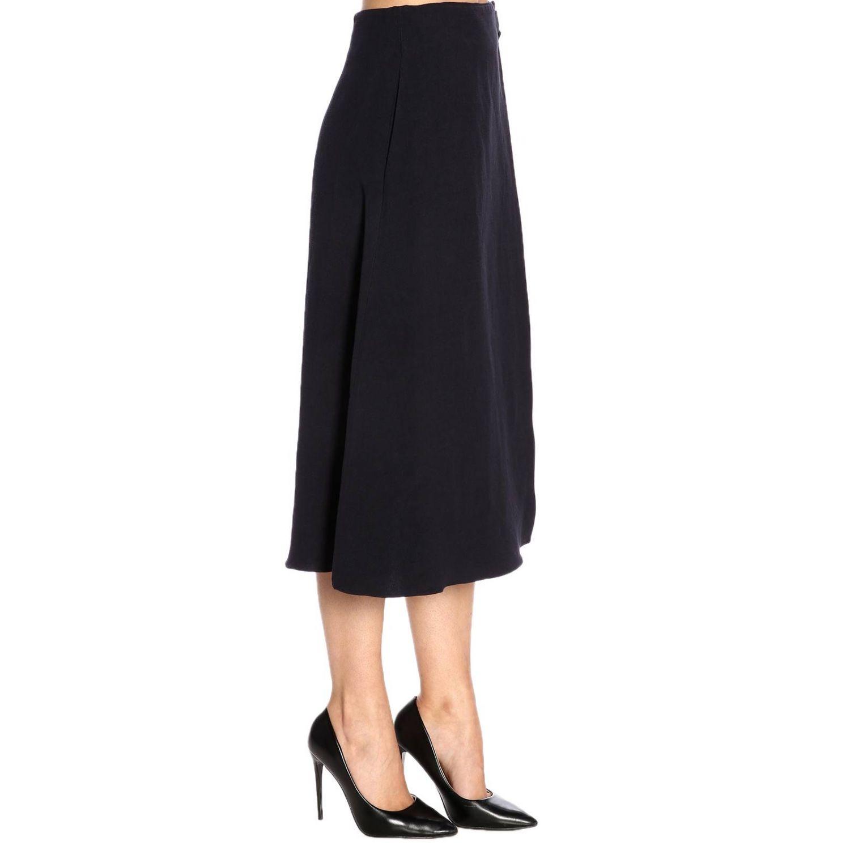 Skirt women Jil Sander blue 2