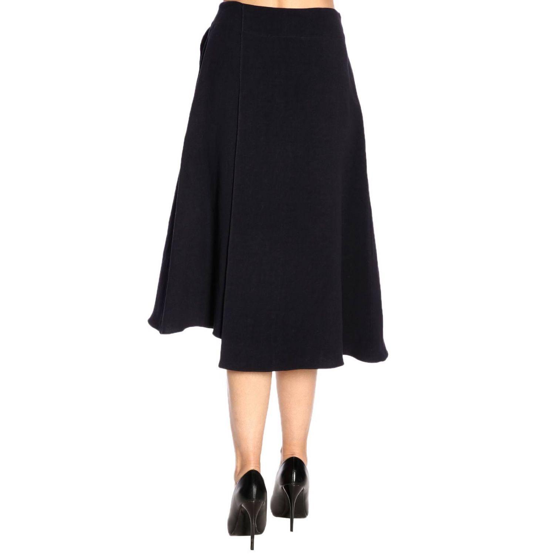 Skirt women Jil Sander blue 3