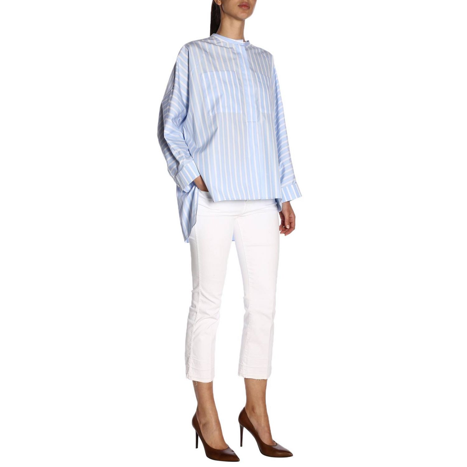 Shirt women Jil Sander white 5