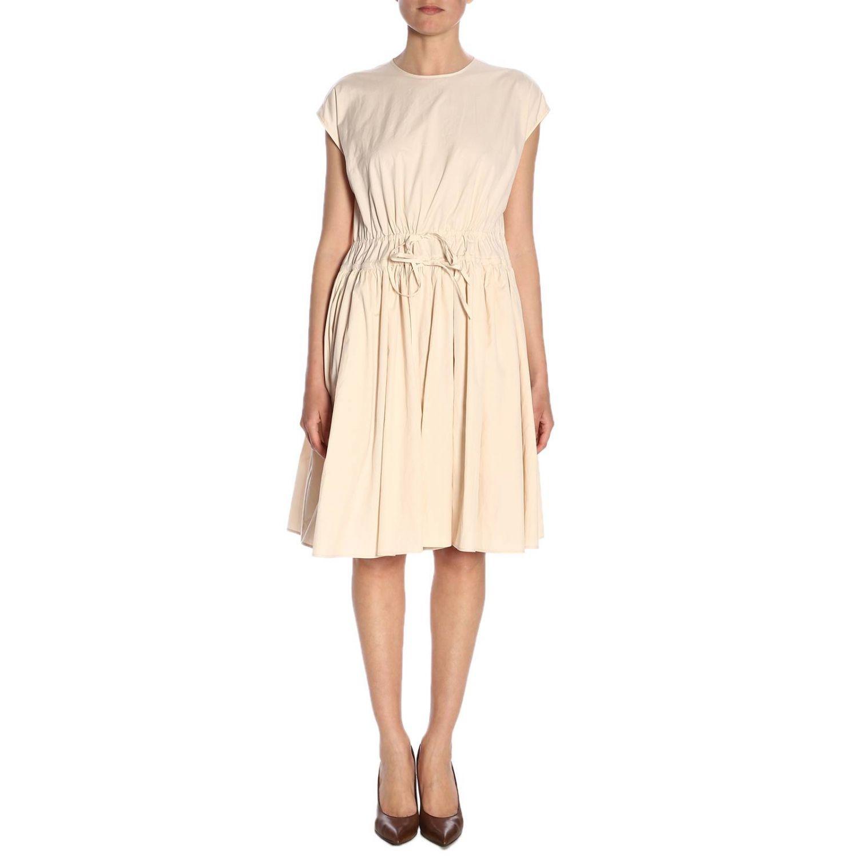 Robes femme Jil Sander rose 1
