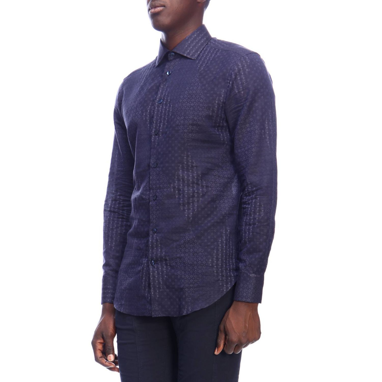Shirt men Etro blue 2